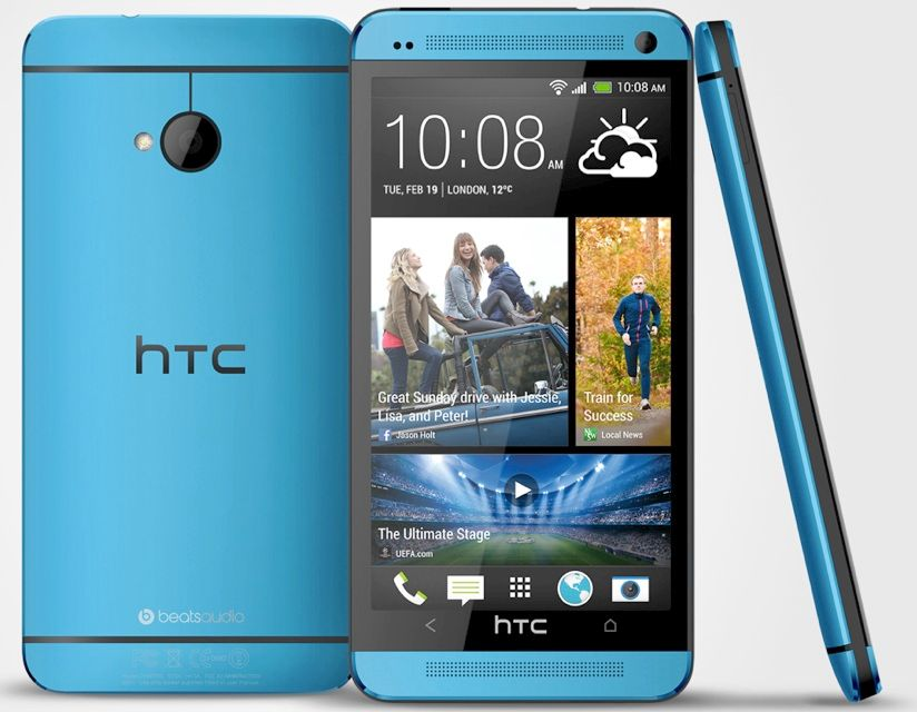 HTC ONE Mini * 16GB Blau 4,3Zoll * KOMPLETT + EXTRA ...
